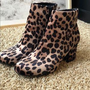 d20d07dca20 Target Shoes - Leopard Print Booties